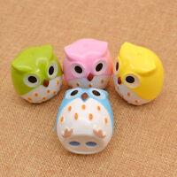 2pcs Lovely Funny Owl Pencil Sharpener Kids Children Novelty Stationery Mini