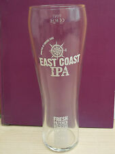 Two (2x) Greene King East Coast IPA tall pint glasses
