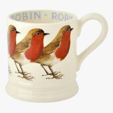 EMMA BRIDGEWATER 1st QTY MUG: WINTER RED ROBIN CHRISTMAS  - NEW