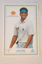 Cricket - Collectable - Tetley Bitter - Sponsor Card - Darren Gough - England