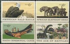 #1387-90 6¢ NATURAL HISTORY LOT OF 100 MINT STAMPS, SPICE UP YOUR MAILINGS!
