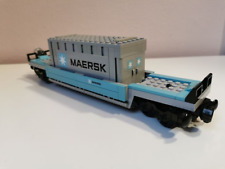 LEGO compatibile vagone 10219 Treno MAERSK (only wagon)