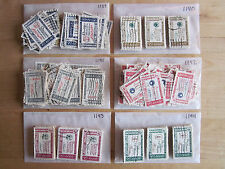 Full Set American Credo Issues # 1139 - 1144 x 100 Used US Stamps of Each