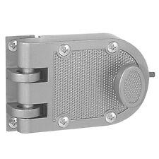 Jimmy Proof Deadbolt lock, Silver, Single Cylinder With key entry #44861