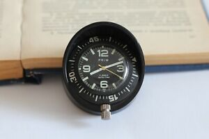 Vintage DIVER PRIM AUTO-TIME 17 jewels, black dial, bezel, diameter 48mm
