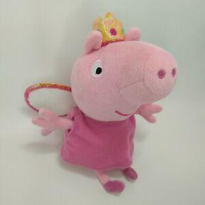 Fairy Princess Peppa Pig Plush stuffed Soft Toy 16cm tall Kids TY 2013