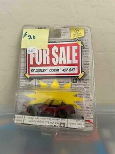 Jada Toys For Sale 1965 65 Shelby Cobra 427 S/C Red Diecast 1/64 Scale CL20