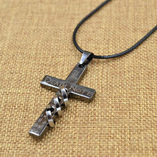Anime Death Note Cross Metal Necklace Unisex Gift For Fan Free Shipping 1PC