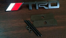 Metal TRD Emblem Toyota Logo Front Hood Grille Badge Auto Car Accessories Decal