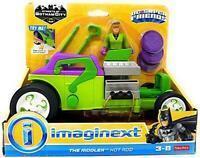 Fisher-Price FNJ32 Imaginext Justice League The Riddler Hot Rod Vehicle Toy