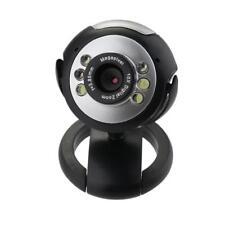 Laptop PC Computer 12.0M 6 LED HD Webcam 360 Degree USB 2.0 Camera Web Cam MIC