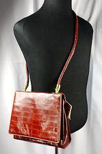 NWT Francesco Biasia Brown Leather Handbag Satchel Purse  NEW