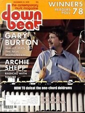 DOWN BEAT MAGAZINE 21/12/1978 GARY BURTON - ARCHIE SHEPP - RON CARTER