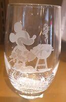 JUICE GLASS / Verre A Jus MICKEY BARBECUE Disneyland Paris