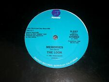 """The Look~Memories~12"""" PROMO~1984 Synth Pop~Dave Edwards~Phil Kaffel~FAST SHIP"""