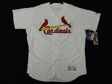 New listing Authentic St. Louis Cardinals Home White Flex Base Jersey 56