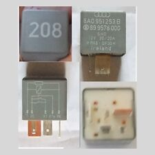 VW No 208 Contact Close Relay - Part Number 431951254