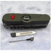 Multifunktions 13 in 1 Style Tasche Taschenmesser Camping w/Licht Outdoor Mini w