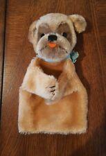 Steiff Mopsy Bull Dog Hand Puppet