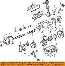 GM OEM-Engine Crankshaft Crank Seal Housing Gasket 24507388