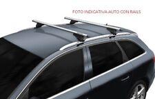 BARRE PORTATUTTO PORTAPACCHI JAGUAR F-PACE 2015> ALLUMINIO RAILS TETTO