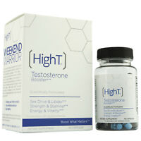 High T Testosterone Booster Supplement, 60 Capsules  (2X 30 ct)