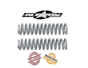 """Rubicon Express 4.5"""" Front Coil Springs fits 84-01 Jeep Cherokee XJ Comanche MJ"""