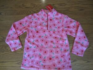 NEW Hanna Andersson Girls Microfleece Top Size 150 (US 12)