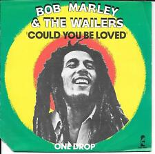 """45 TOURS / 7"""" SINGLE--BOB MARLEY & THE WAILERS--COULD YOU BE LOVED--1980"""
