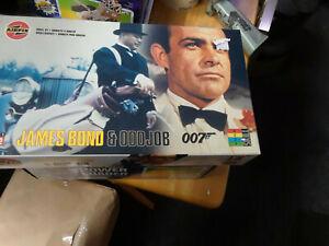 James Bond & Odd job model kit 1/12 scale Airfix