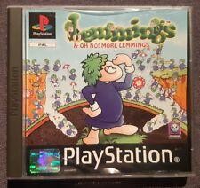 Jeu LEMMINGS & OH NO ! MORE LEMMINGS - Playstation 1 (PS1) - Français (PAL)