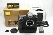 Nikon D300S 12.3MP Digital SLR Camera Black Body Only w/ MB-D10 #210115b