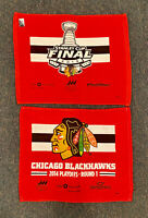 Chicago Blackhawks (2) Rally Towels - 2015 Stanley Cup & 2014 Playoffs Round 1