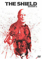 The Shield - Complete Fifth 5th Season 5 (DVD, 2008, 4-Disc Set) Michael Chiklis