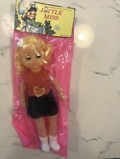 Vintage Little Miss Doll 11in