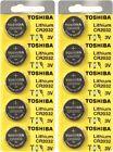 Внешний вид - 10 x New Original Toshiba CR2032 CR 2032 3V LITHIUM BATTERY BR2032 DL2032 Remote