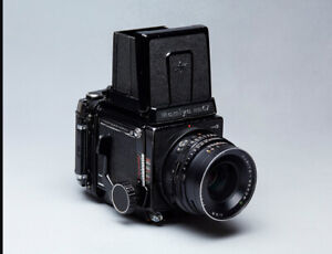 Mamiya RB67 with 90mm f3.8 Sekor C Lens
