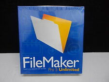 Filemaker pro 5 Unlimited per Windows e Macintosh