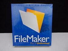 Filemaker Pro 5 Unlimited für Windows und Macintosh