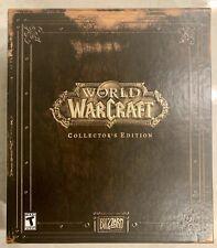 New listing World of Warcraft Vanilla Collector's Edition Original Big Box Set 2004 Used Key