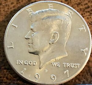 1997 P Kennedy Half Dollar, BU Uncirculated