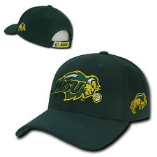 Green North Dakota St State NDSU Bison NCAA Adjustable Baseball Ball Hat Cap