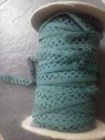 Green fancy lingerie elastic 10 meters 1.5 cm wide