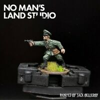 Pro Painted 28mm Bolt Action Waffen Ss officer Warlord Games Ww2