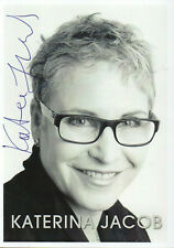 Autogramm - Katerina Jacob