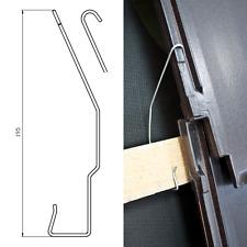 Seitenfalzklammern Sturmklammern Sturmklammer für Tondachziegel 250 Stück MD-PL