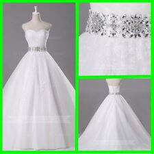 Princess Fairy Tale Romantic Wedding Dress Debutante Gown W908