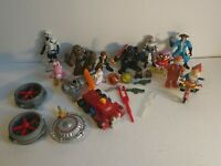 job lot action figures thunderbirds, Star Wars, noddy