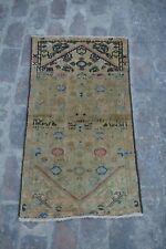 Antique Primitive Caucasian rug / hand knotted rug 100% wool Elegant tribal rug