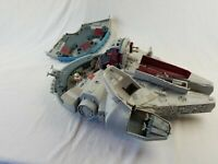 RARE LFL HASBRO STAR WARS MILLENNIUM FALCON see photos, works, missing parts